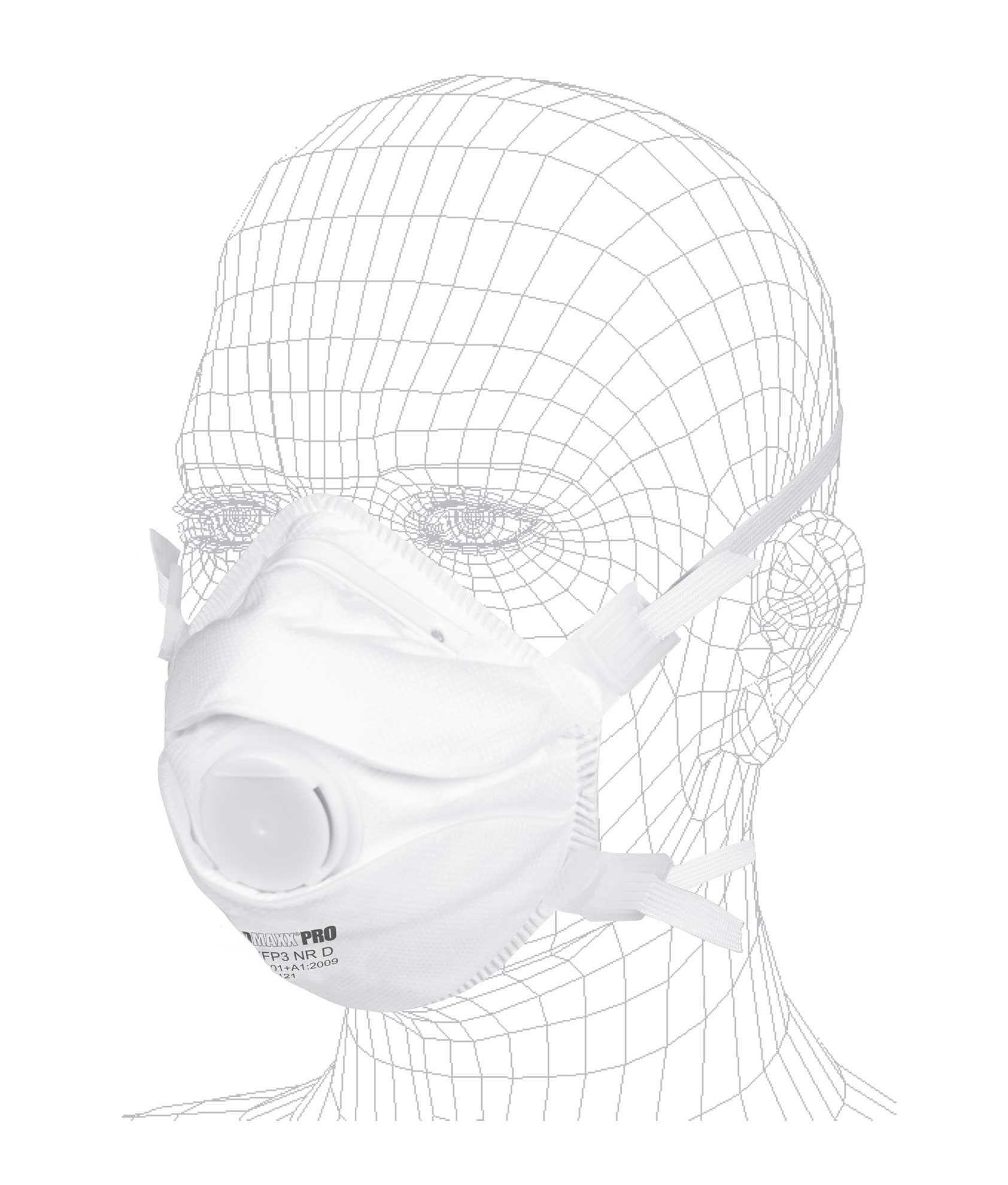 Solidmaxx Pro Atemschutmaske FFP3